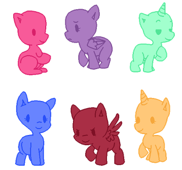 My Little Pony Base 1 by PartyBases