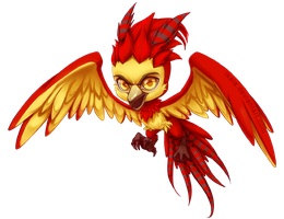 Chibi Fawkes by Iksia