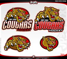 Cougar Hockey by jpnunezdesigns