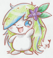 .Akina the Shaymin. by Ishisu