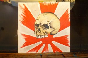skull and sun by bishop808