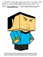 Cubeecraft - Spock 'TAS' by CyberDrone