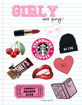 -10 Girly PNG's ~MichySwag by MichySwag