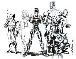 X-Men by sobad-jee