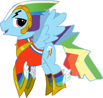 Rainbow Bltiz - Suit Fail by Drewsenr