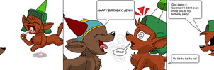 South Park: Kyle Birthday Comic by KelseyEdward