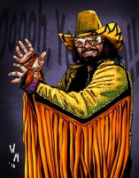 Macho Man Randy Savage by quibly