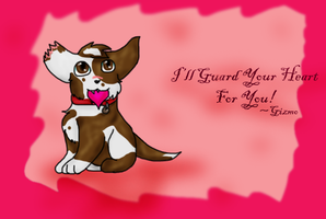 Happy Valentine's Day-from Gizmo by DucklettsRcute