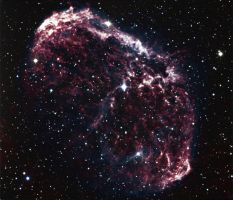 Crescent nebula by astrofireball