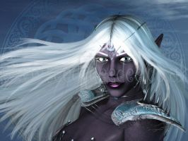 Drow Commission for Leaturtle by 3D-Fantasy-Art
