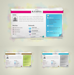 freebie: Paper vCard by yahya12