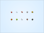 Sports Icons in 16px by JJ-Ying