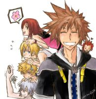 KH: Pile up time by Jotaku