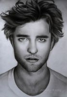 Robert Pattinson drawing by mandyart