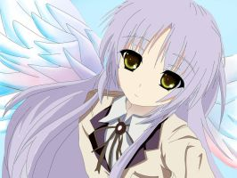 kanade - tenshi - angel beats by febyzaoldyeck7
