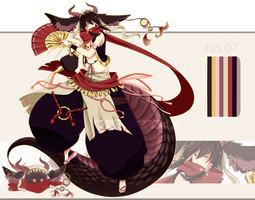 .:CLOSED:. Adoptable - Chidus Species 07 by chisei-adopts