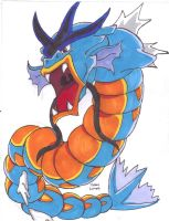 Legendary Gyarados by SonicKnight007