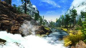The Waters of Skyrim by SoraSynnTS3