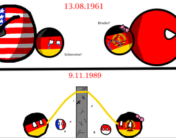 Fall of Berlin Wall by HistoryWithCountryba