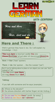 Learn German - Here and There by TaNa-Jo