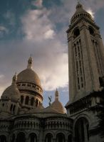 Montmartre Of Evening Colours by sephirath
