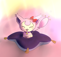 Cutest Skitty Around by His-Bushman