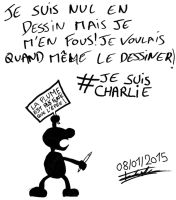 Je Suis Charlie by Bast6