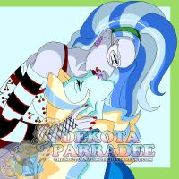 Stealing a Kiss - Ghoulia x Lagoona by Chibi-Warmonger