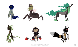 Design Sheet Commish Key2Immortality 2 by Immonia