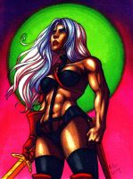 Taarna from Heavy Metal by Eiluvision