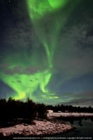 Northern Lights, Lapland. by andykeen