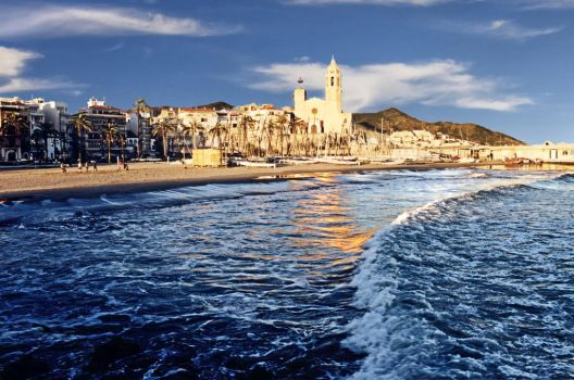Sitges in Winter by ersi
