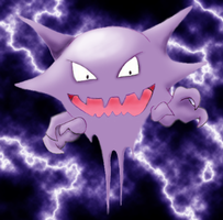 Haunter Color by Cypher7523