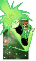 Green Lantern - Hal Jordan by leuvenardi