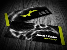 Personal business card by Malanori