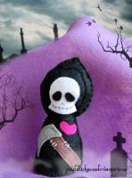 Grim Reaper Custom Plush by quidditchmom