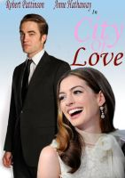 City Of Love Rom Com poster by Conceptivate