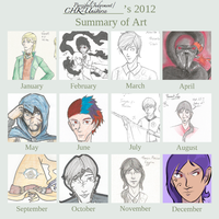 2012 Summary of Art by ParzifalsJudgment