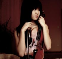 With My Violin by Hyenn