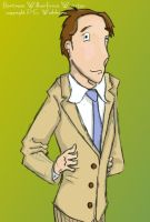 Bertram Wilberforce Wooster by sportytuna