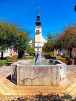 The village fountain of Reichenthal by patrickjobst