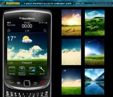 Blackberry Torch wallpaperpack by mpk2