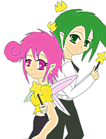 FOP: Cosmo and Wanda by lady-warrior