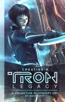 Tron Legacy Book Cover Design by JustMarDesign