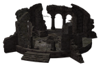 Building - Temple Ruins 04 by Free-Stock-By-Wayne