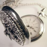 Steampunk Madness Pocket Watch by Om-Society
