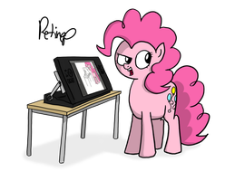 Cintiq 24HD Pinkie Test by petirep