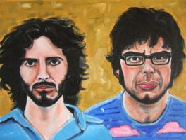 Flight Of The Conchords by Mazzi294