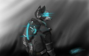 Dead Space  furry version by Riggsfur