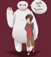 We're Baymax And Hiro by Ocean-chan6